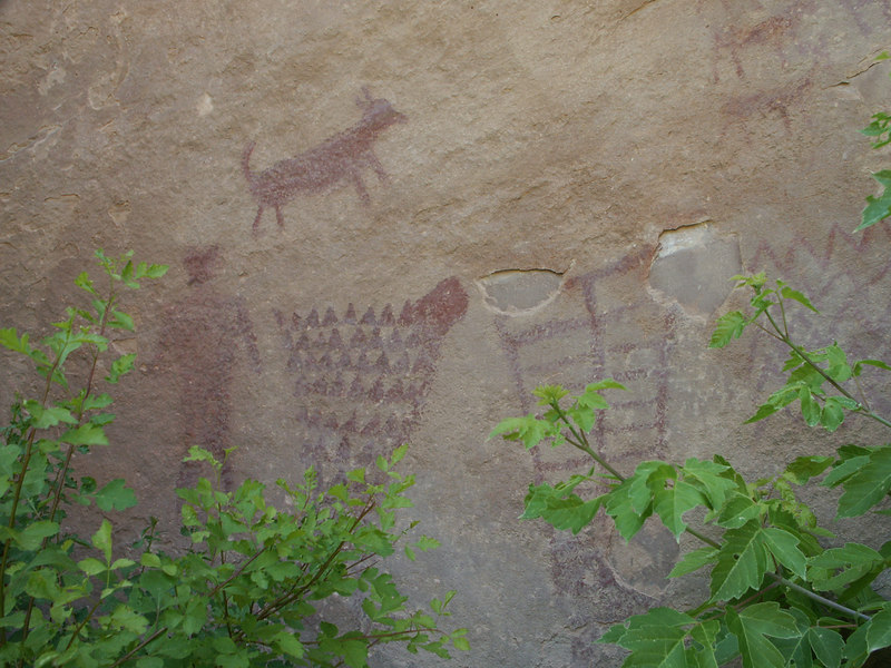 <b>More pictographs in Jones Hole</b>   (Jun 28, 2003, 02:34pm)