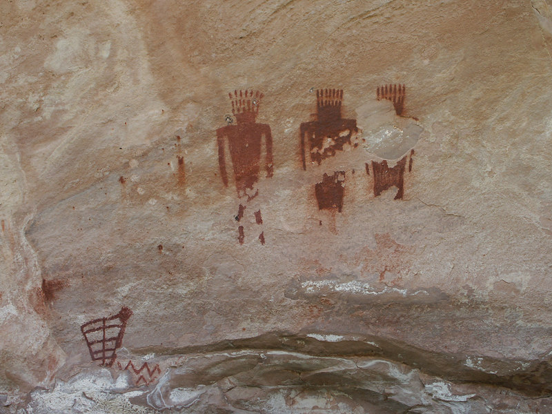 <b>Pictographs in Jones Hole</b>   (Jun 28, 2003, 02:33pm)