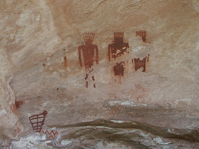 Pictographs in Jones Hole   (Jun 28, 2003, 02:33pm)