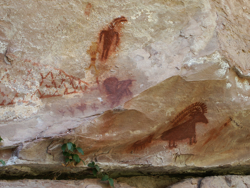<b>Still more pictographs in Jones Hole</b>   (Jun 28, 2003, 02:38pm)