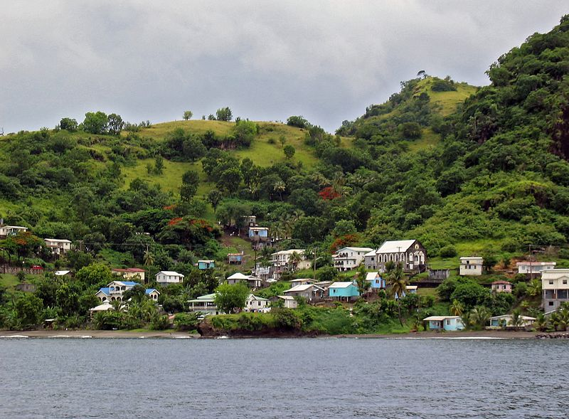 <b>Settlement on the leeward coast of St. Vincent</b>   (Jul 15, 2004, 10:42am)