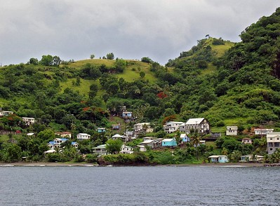 Settlement on the leeward coast of St. Vincent   (Jul 15, 2004, 10:42am)