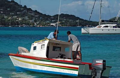 Unloading supplies at Petit St. Vincent   (Jul 24, 2004, 08:21am)
