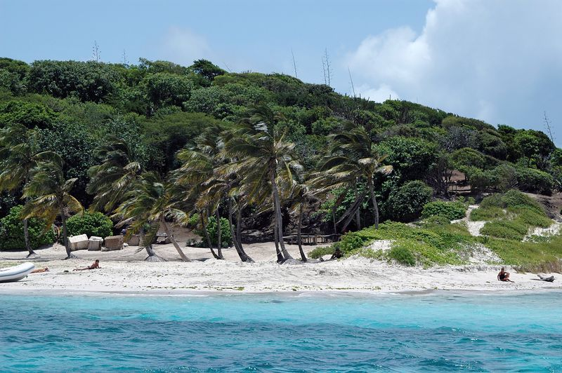 <b>Boaters are the only residents of Tobago Cays</b>   (Jul 22, 2004, 11:55am)