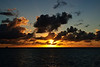 Sunrise in the Grenadines (Dec 11, 2008, 06:25am)<br /> <br /> This is sunrise from the Tobago Cays.  The small island on the left is called Castle Rock.