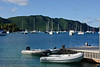 Dinghy Dock in Admiralty Bay (Dec 8, 2008, 08:33am)<br /> <br /> This is a view of Admiralty Bay in Bequia.  The foreground shows one of the dinghy docks along the shore.