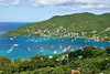 Admiralty Bay, Bequia (Dec 8, 2008, 10:07am)<br /> <br /> A view of main bay, on the west side of Bequia Island.  The bay is full of sailboats, since Bequia is one of the most popular stops for boaters.