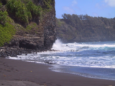 Surf crashing at Pololu Beach   (Jul 15, 2001, 11:14am)