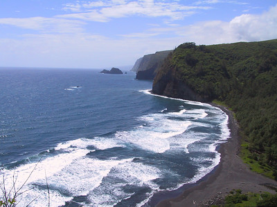 North shore of Hawaii starting from Pololu Valley   (Jul 15, 2001, 10:54am)