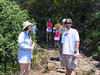 <b>Goulds and Clarks on trail to Pololu Beach</b>   (Jul 15, 2001, 11:07am)