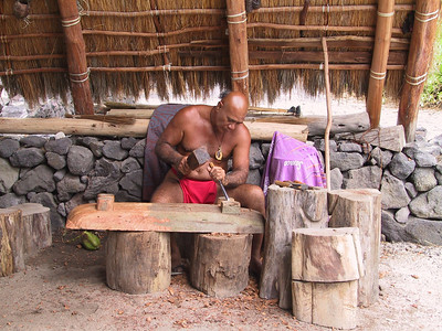 He is making a dish for a roasted luau pig   (Jul 16, 2001, 12:58pm)