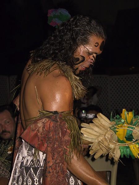 <b>Islander works the crowd at the luau</b>   (Jul 16, 2001, 07:29pm)