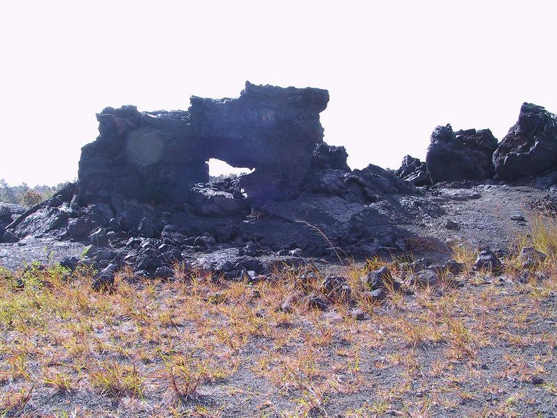 <b>Arch in 1969 lava flow</b>   (Jul 17, 2001, 03:55pm)