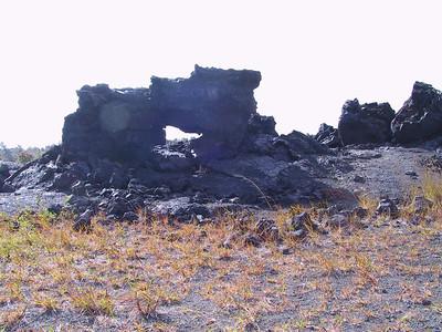 Arch in 1969 lava flow   (Jul 17, 2001, 03:55pm)