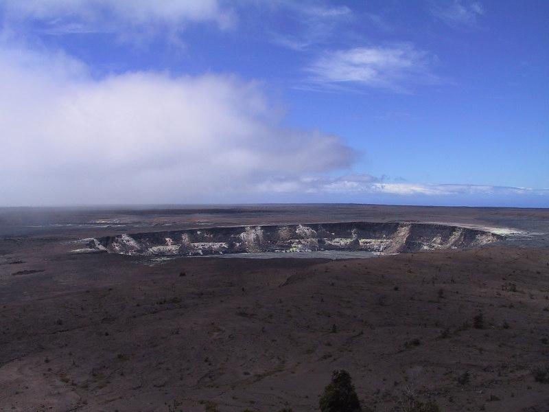 <b>Halemaumau Crater inside Kilauea Caldera</b>   (Jul 17, 2001, 11:37am)