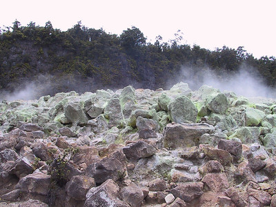 Sulphur Banks near Kilauea Volcano   (Jul 17, 2001, 11:04am)