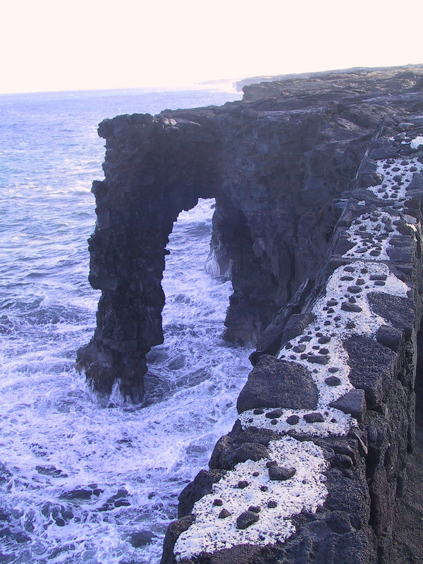 <b>Holei Sea Arch off of Chain of Craters Road</b>   (Jul 17, 2001, 05:28pm)