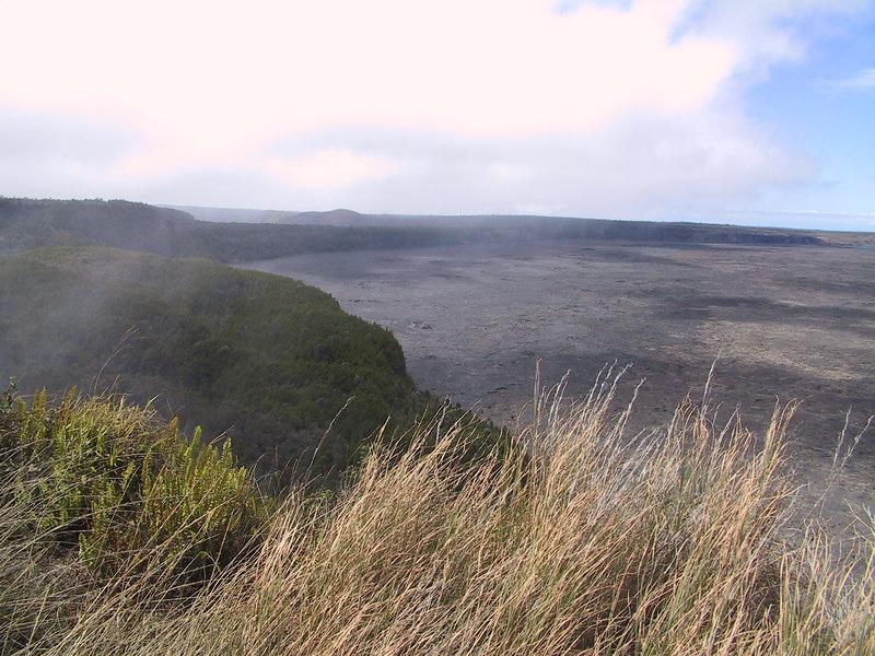 <b>Kilauea Caldera</b>   (Jul 17, 2001, 11:15am)