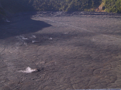 View of east end of Kilauea Iki Trail from above   (Jul 18, 2001, 07:58am)