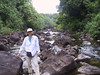 <b>Daphne on the aborted stream hike to Umauma Falls</b>   (Jul 18, 2001, 04:31pm)