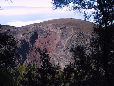 Looking across Kilauea Iki to south rim   (Jul 18, 2001, 07:49am)