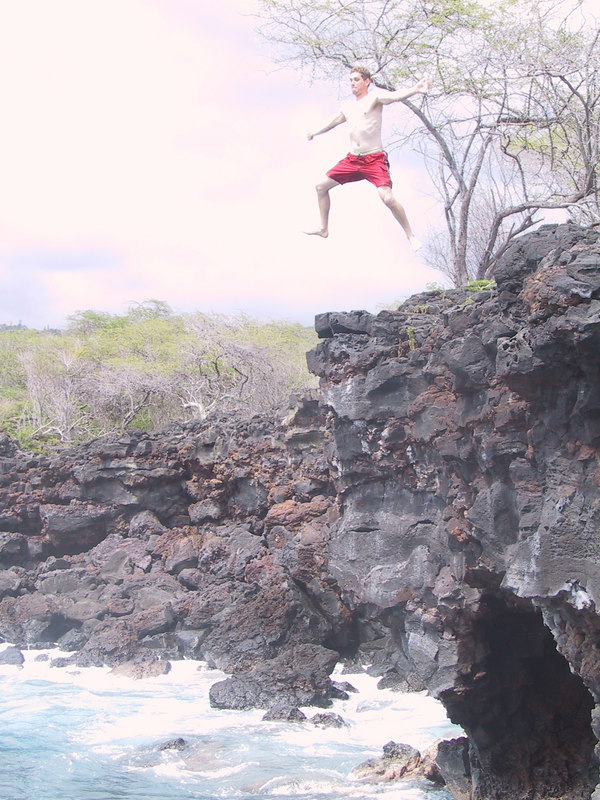 <b>Keith tries cliff jumping 1</b>   (Jul 19, 2001, 02:52pm)