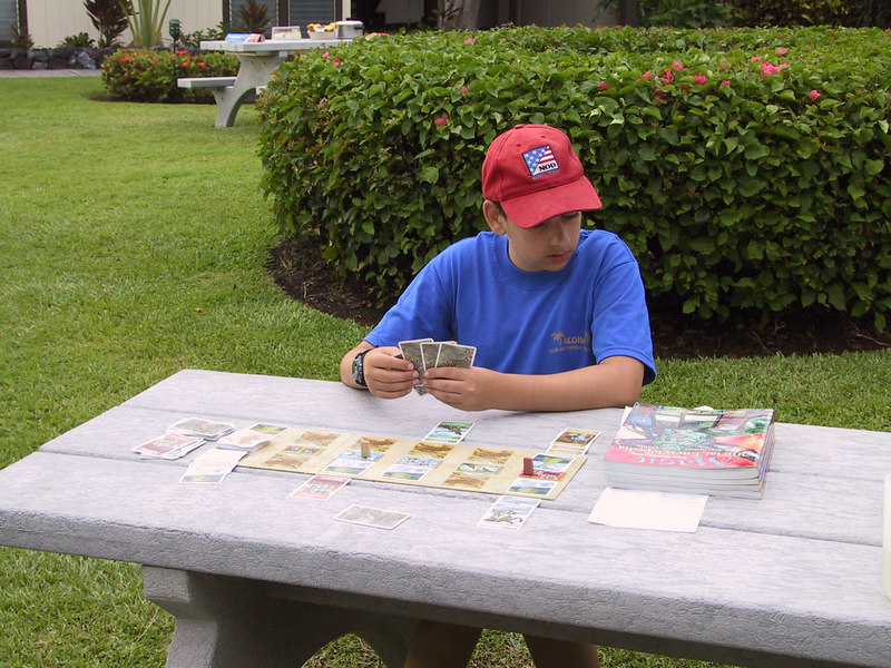 <b>Ben plots his next move in a game of Babel</b>   (Jul 20, 2001, 05:33pm)