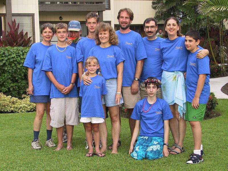 <b>Judy and Bill Clark and their children and grandchildren</b>   (Jul 20, 2001, 06:14pm)