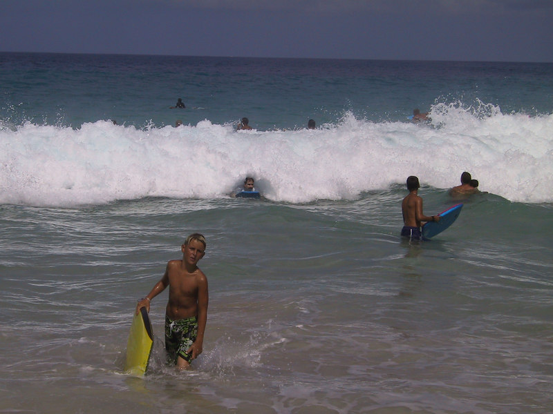 <b>Joel tries to ride this wave into shore</b>   (Jul 19, 2001, 10:01am)