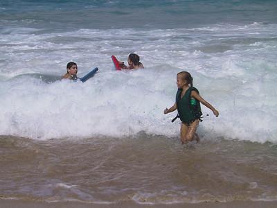 Ben Beth and Heather at White Sands Beach   (Jul 19, 2001, 09:20am)