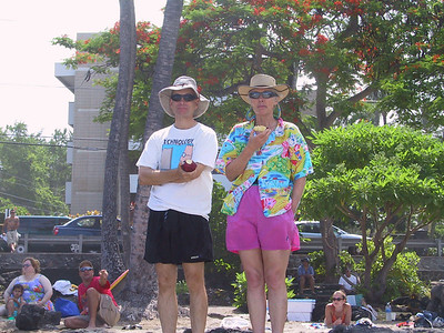 Harold and Kay at White Sands Beach   (Jul 19, 2001, 10:21am)