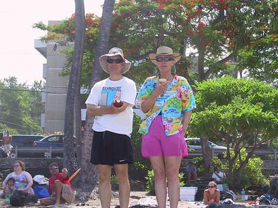 Harold and Kay at White Sands Beach   (Jul 19, 2001, 10:21am)
