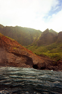 More sea caves along Na Pali coast   (Jul 23, 2001, 10:20am)