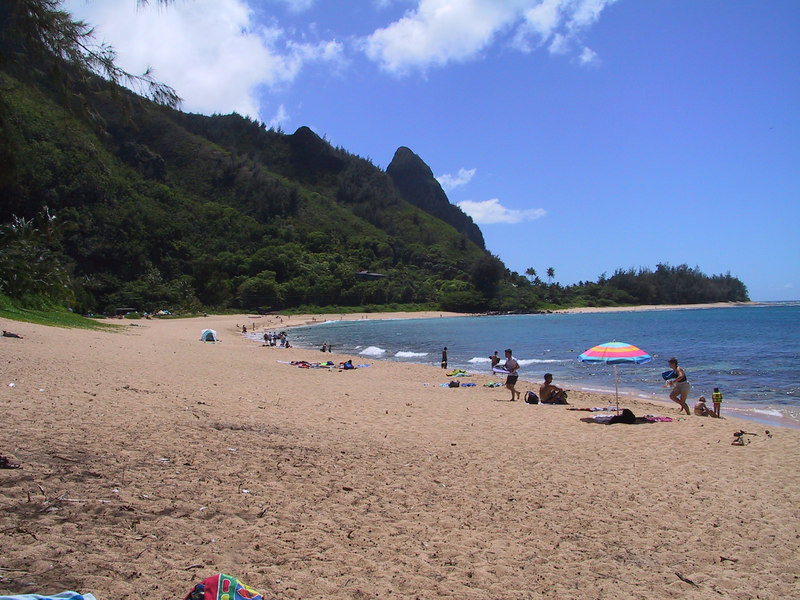 <b>Haena Beach</b>   (Jul 25, 2001, 02:22pm)