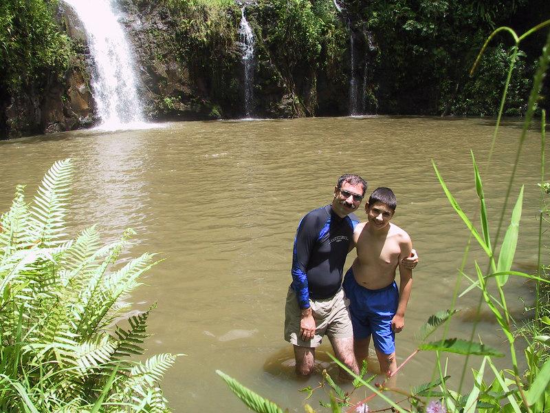 <b>Joel and Ben get their feet wet</b>   (Jul 26, 2001, 01:49pm)