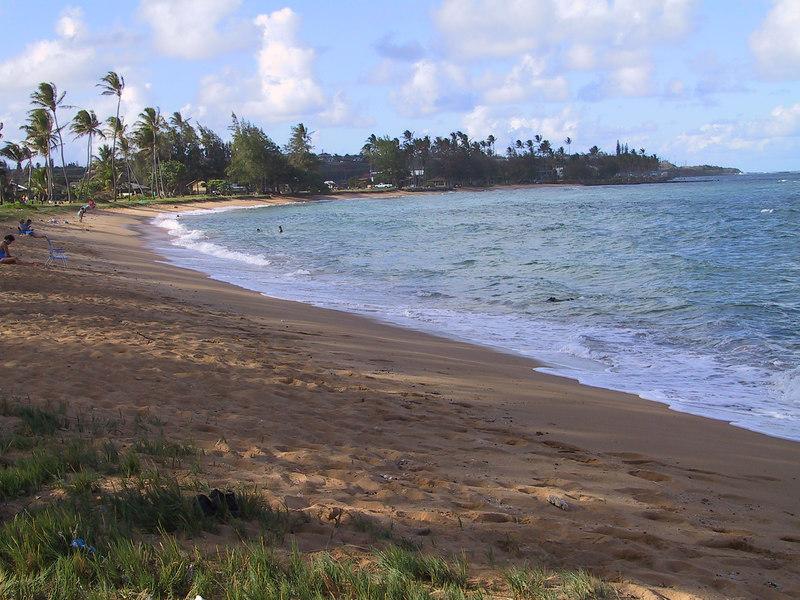 <b>North part of waterfront at Pono Kai condos</b>   (Jul 26, 2001, 05:17pm)