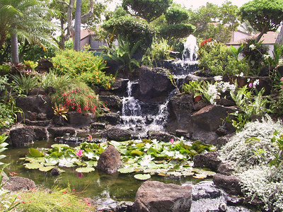 Japanese garden at Pono Kai condos   (Jul 26, 2001, 10:38am)