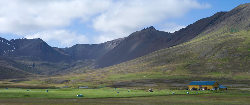 North Iceland offers some of the country's best grazing land for horses and sheep.