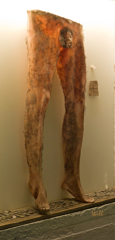 """One of the most bizarre exhibits in the Museum of Icelandic Sorcery and Witchcraft has to be the Necropants.<br /> <br /> This spell required the sorcerer to dig up a body and skin it in one continuous piece from the waist down. The sorcerer put the Necropants on his own legs - and of course, they immediately adhered to him tightly.<br /> <br /> Next step was to steal a coin from a poor widow on Christmas or Easter and place the coin in the """"pouch"""" of the Necropants. If successful, the sorcerer could then pull coins from the """"pouch"""" indefinitely."""