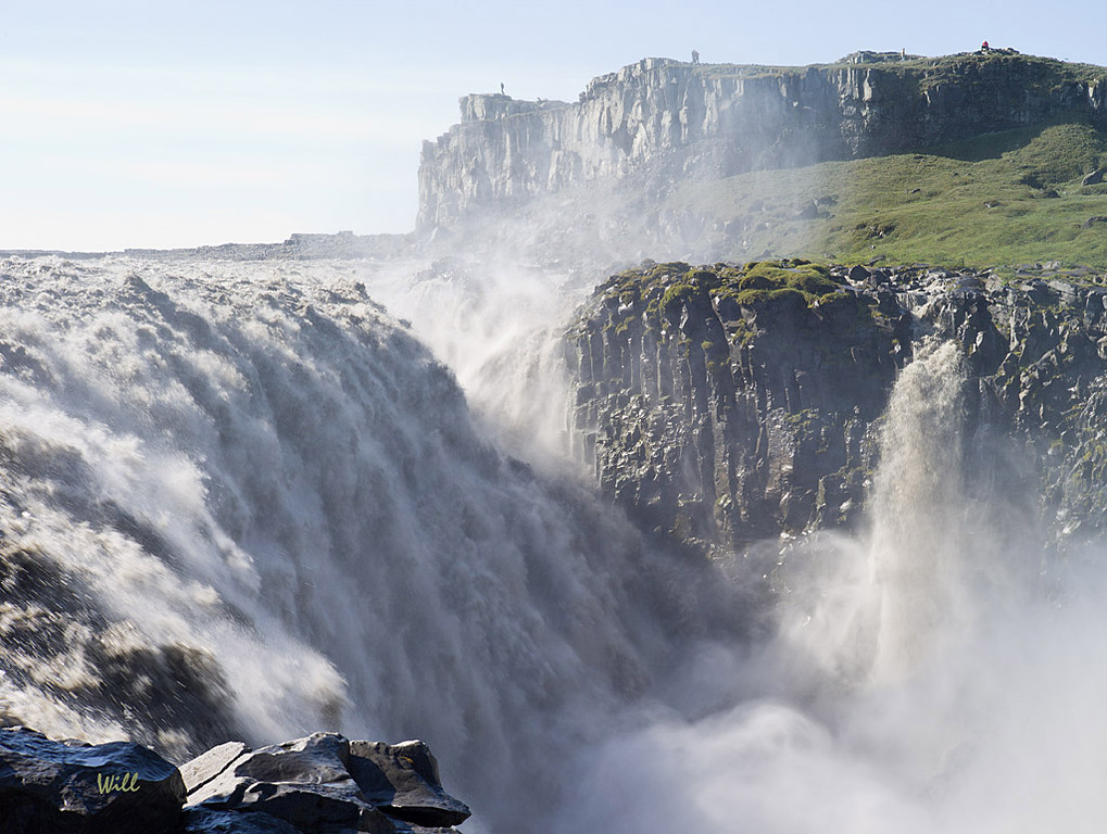 An interesting thing about traveling in Iceland is that no matter how dangerous a tourist site is, there are no fences, barriers, or security guards to keep you from walking right up to (or into) it.<br /> <br /> I suppose this explains why there are so few idiots in Iceland.