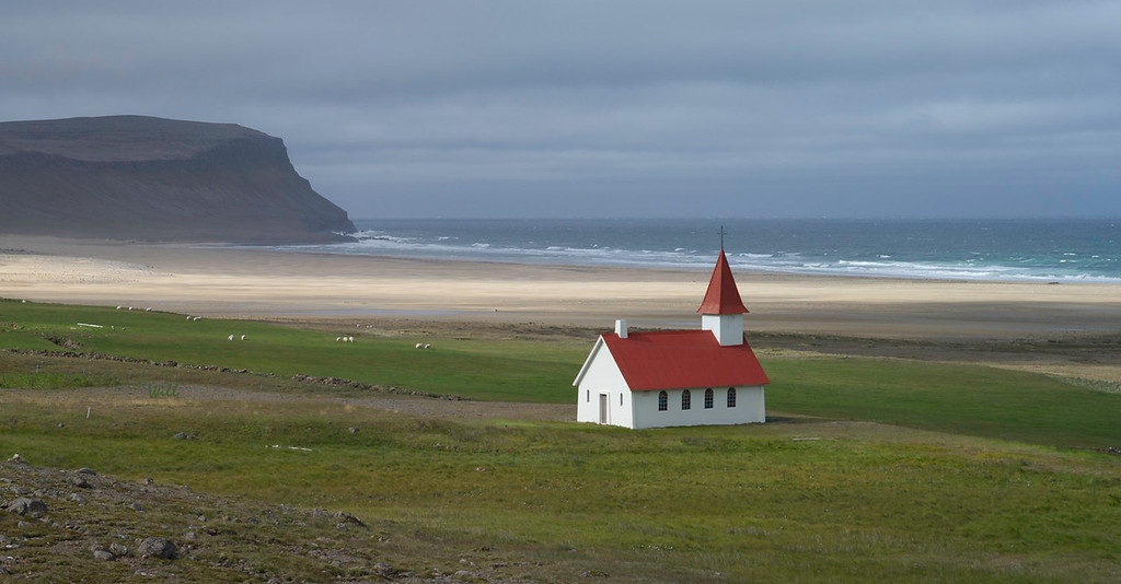 © Robert Will 2013<br /> <br /> Breiðavík Church