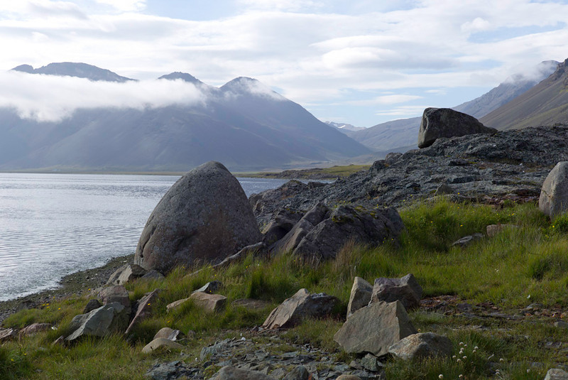 Glacial errata in the Eastern Fjords.