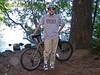 Ben at Fallen Leaf Lake on a bike ride.