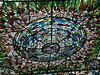 <b>Center of stained glass ceiling at Xcaret</b>   (Dec 29, 2002, 01:38pm)