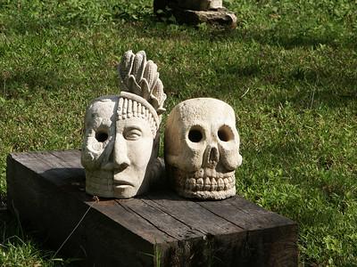 Sculpture at Xcaret   (Dec 29, 2002, 01:10pm)