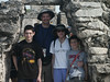 <b>The Courtney family under the arch at Tulum</b>   (Dec 30, 2002, 10:04am)
