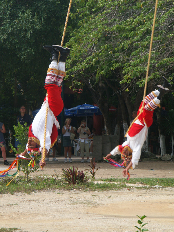 <b>Two Mayan performers approaching the ground</b>   (Dec 30, 2002, 10:47am)