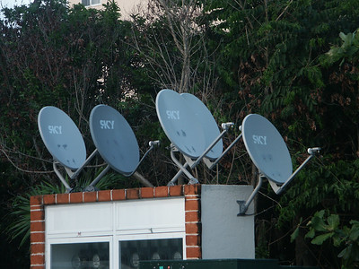 Everyone wants their own satellite disk   (Dec 31, 2002, 05:04pm)