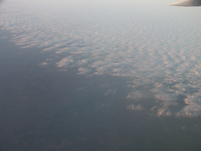 Edge of cloud bank seen from airplane   (Jan 01, 2003, 04:51pm)