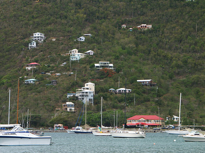 Looking at the hillside across Coral Bay   (Jul 01, 2002, 09:40am)